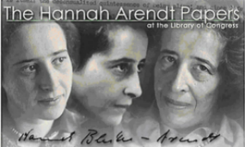 The Hannah Arendt Papers at the Library of Congress