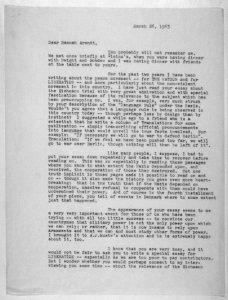 Deming Letter p.1